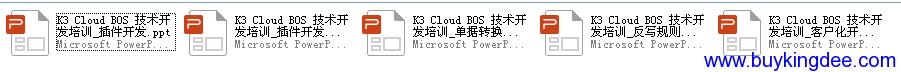 K3 Cloud BOS技术开发培训PPT